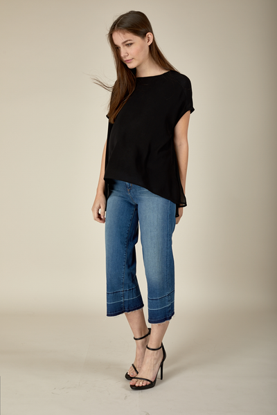 JANESSA TOP - BLACK