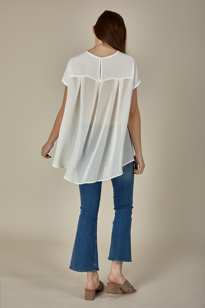 JANESSA TOP - WHITE