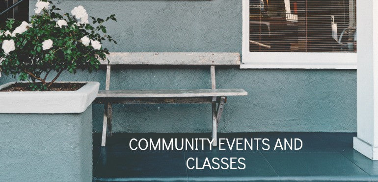 join our community events