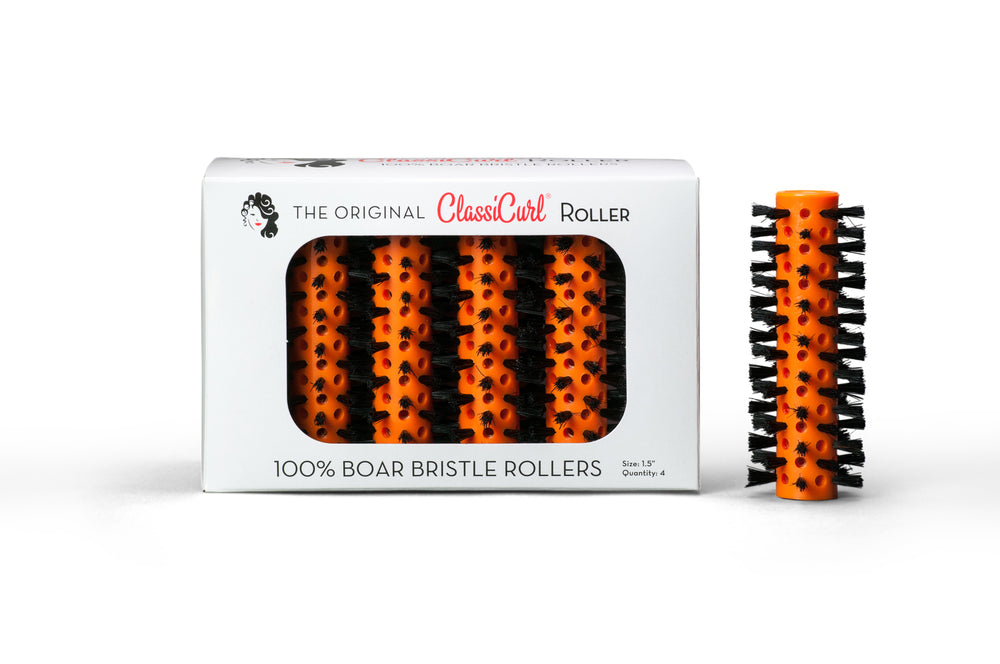 "The Original ClassiCurl Roller 1.5"" Orange Qty 4"