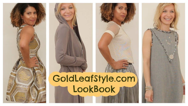 Gold Leaf Style Lookbook review of the new fashion trends!