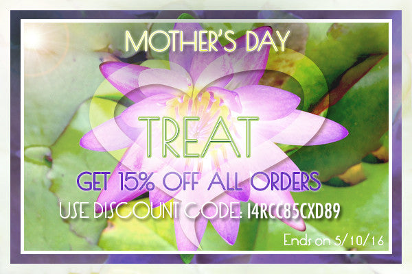MOTHER'S DAY SPECIAL PROMO!
