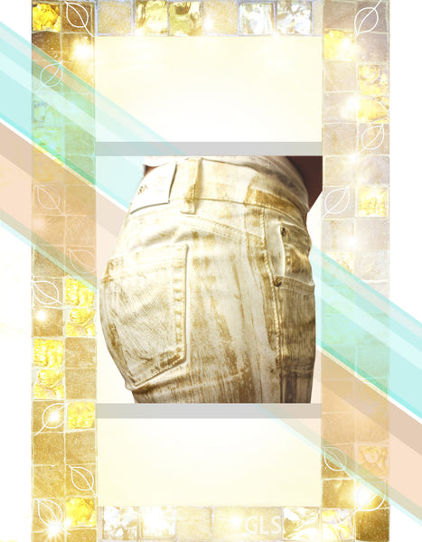 Gold Brushed Pants