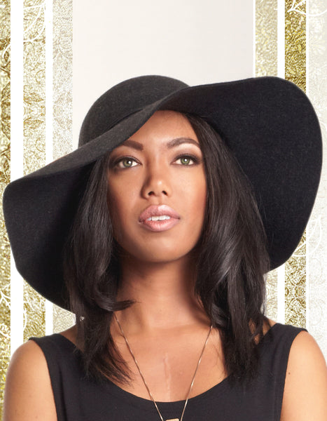 Black Tassel Hat
