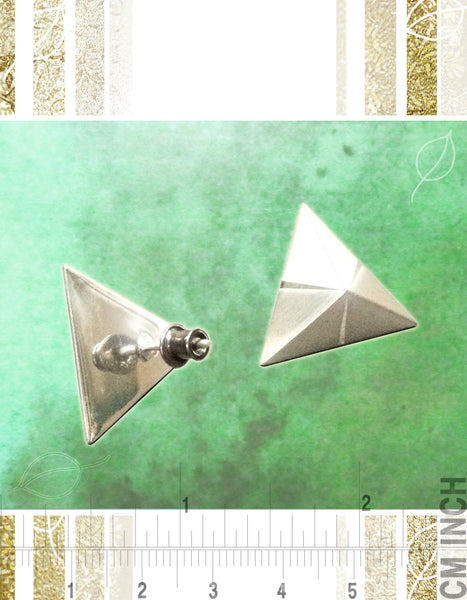 Mindful Pyramid Earrings
