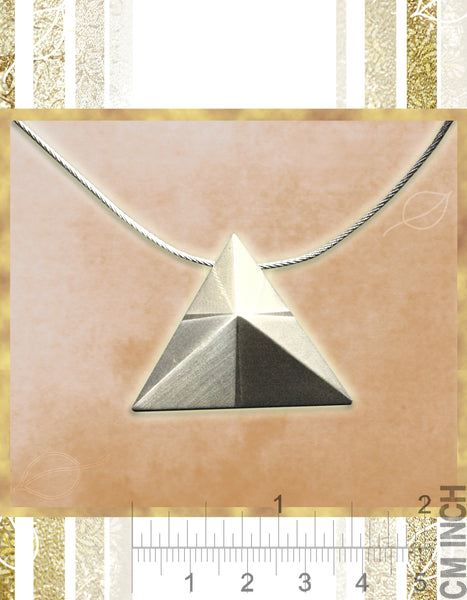 Mindful Pyramid Necklace