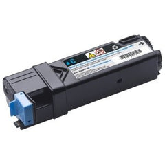 Compatible Cyan Printer Cartridges For The Dell 2130cn / 2135cn Printer (T107C High Capacity Yield 2500 Pages)