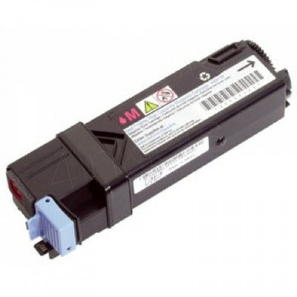 Compatible Magenta Printer Cartridges For The Dell 2130cn / 2135cn Printer (T109C High Capacity Yield 2500 Pages)