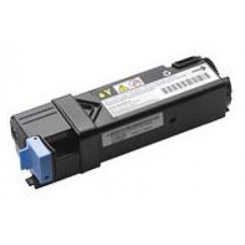 Compatible Yellow Printer Cartridges For The Dell 2130cn / 2135cn Printer (T108C High Capacity Yield 2500 Pages)