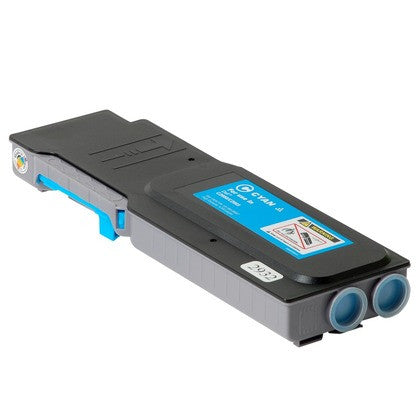 Compatible Cyan Printer Cartridges For The Dell c2660dn / c2665dnf Printers (TW3NN High Yield 6,000 Pages)