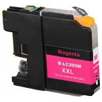 Compatible Brother LC205 Super High Yield Magenta Ink Cartridge (Brother LC205M)