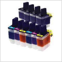 Compatible Combo Set for Brother Ink Cartridge LC41 (4 Black and 2 of each C/M/Y)