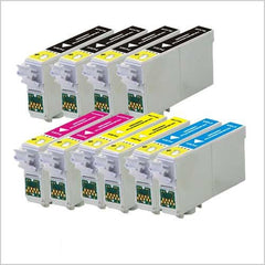 Remanufactured Combo Set for Epson 69 T069120 - T069420 (4 Black and 2 of each color C/M/Y)