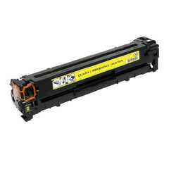 Remanufactured HP 128A Yellow Toner Cartridge (HP CE322A)