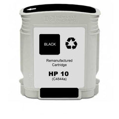 Remanufactured HP 10 Ink Cartridges (HP C4844A Black)
