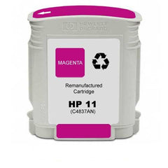 Remanufactured HP 11 Ink Cartridges (HP C4837AN Magenta)