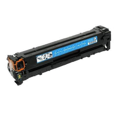 Remanufactured HP 128A Cyan Toner Cartridge (HP CE321A)