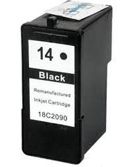 Remanufactured Lexmark 14A Black Ink Cartridge (Lexmark 18C2080)