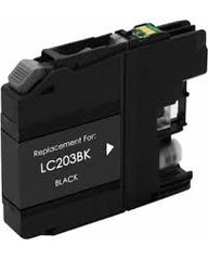 Compatible Brother LC203 High Yield Black Ink Cartridge (Brother LC203BK)
