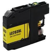 Compatible Brother LC205 Super High Yield Yellow Ink Cartridge (Brother LC205Y)