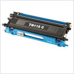 Compatible Brother TN115 Cyan Toner Cartridge (Brother TN115 High Yield Cyan)