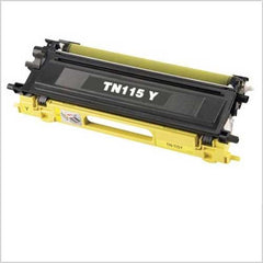 Compatible Brother TN115 Yellow Toner Cartridge (Brother TN115 High Yield Yellow)