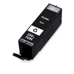 Compatible Canon PGI250 High Yield Pigment Black Ink Cartridge (Canon 6432B001)