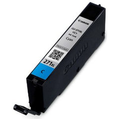 Compatible Canon CLI-271XL High Yield Cyan Ink Cartridge (Canon 0337C001)