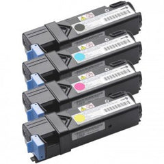 Compatible Combo Set for Dell 1320c Toner Cartridges (1 Black and 1 of each Color C/M/Y)