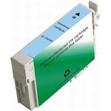 Remanufactured Epson 77 Light Cyan Ink Cartridge (Epson T077520 High Capacity)