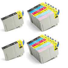 Remanufactured Combo Set for Epson 78 T078120 - T078620 (4 Black and 2 of each color C/M/Y/LC/LM)