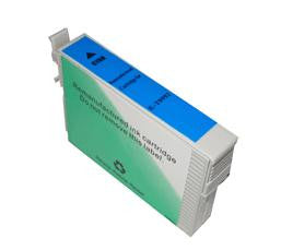 Remanufactured Epson 99 Cyan Ink Cartridge (Epson T099220 Standard Capacity)