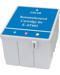 Remanufactured Epson T005011 Color Ink Cartridges