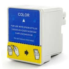 Remanufactured Epson T037020 Ink Cartridges (Epson T037 Color)