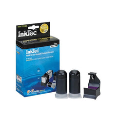 Printer Ink Refill Kit For HP CB317WN (564) & CB322WN (564XL) (20ml x 2, Refill Clip, Photo Black)