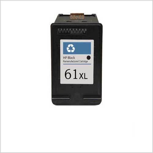 Remanufactured HP 61XL Ink Cartridges (HP CH563WN Black)