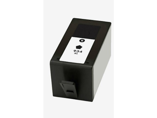 Remanufactured HP 934XL High Yield Black Ink Cartridge (HP C2P23AN)