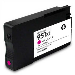 Remanufactured HP 951XL High Yield Magenta Ink Cartridge (HP CN047AN)
