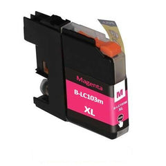 Compatible Brother LC103 High Yield Magenta Ink Cartridge (Brother LC103M)