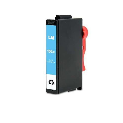 Compatible Lexmark 150XL Cyan High Yield Ink Cartridge (Lexmark 14N1615)
