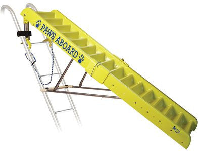 Yellow Doggy Boat Ladder - 5 ft - ZoeDoggy of Beverly Hills