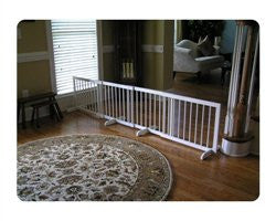 Step Over Pet Gate Extension - White - ZoeDoggy of Beverly Hills