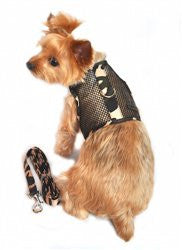 Cool Mesh Netted Dog Harness and Leash - Camouflage - ZoeDoggy of Beverly Hills