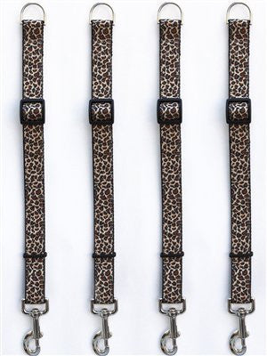 Diva-Dog Leaping Leopard Leash Extenders - ZoeDoggy of Beverly Hills