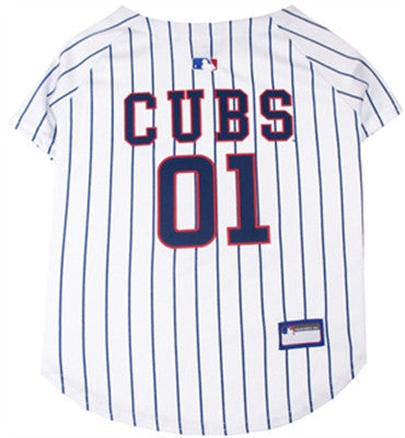 Chicago Cubs Dog Jersey - ZoeDoggy of Beverly Hills