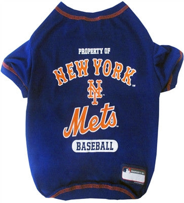New York Mets Dog Tee Shirt - ZoeDoggy of Beverly Hills