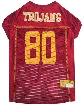 USC Trojans Dog Jersey - ZoeDoggy of Beverly Hills