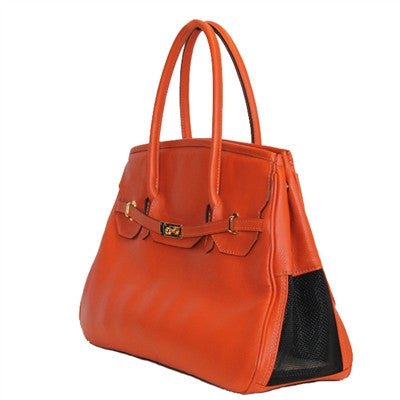 Katie Bag - Orange - ZoeDoggy of Beverly Hills