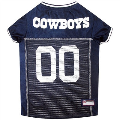 NFL Dallas Cowboys Dog Jerseys - ZoeDoggy of Beverly Hills
