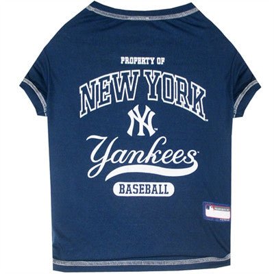 New York Yankees Dog Tee Shirt - ZoeDoggy of Beverly Hills